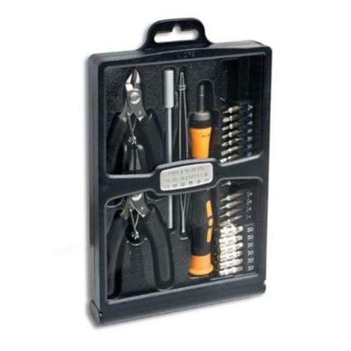 Syba 32 Pieces Hobby Tool Kit Precision Screwdriver Box Set