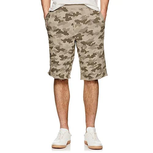 ATM Anthony Thomas Melillo Camouflage Cotton Terry Shorts