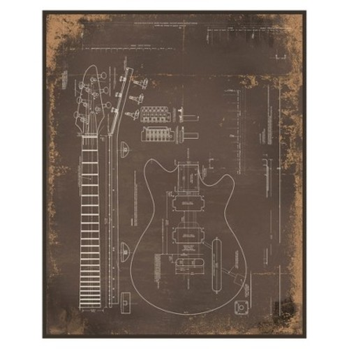 Electric Guitar Wall Art