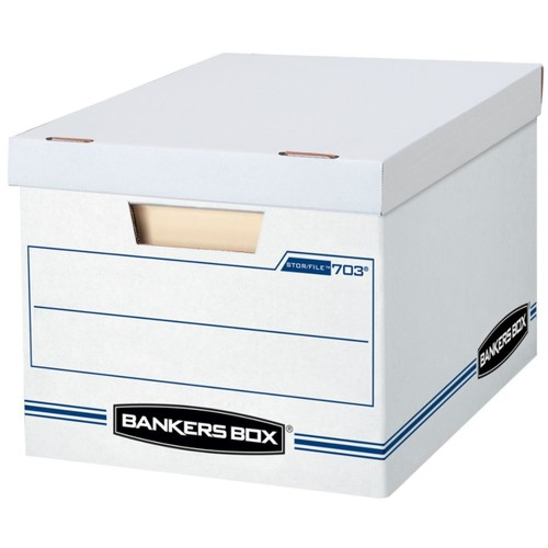 Bankers Box Stor/File Basic Strength Storage Boxes, 15