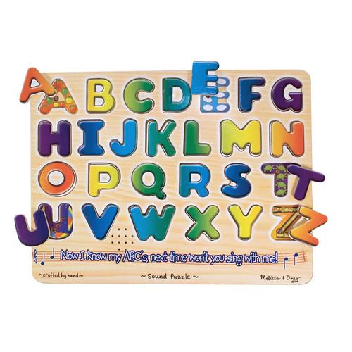 Alphabet Sound Puzzle by Melissa & Doug   multi   Gilt