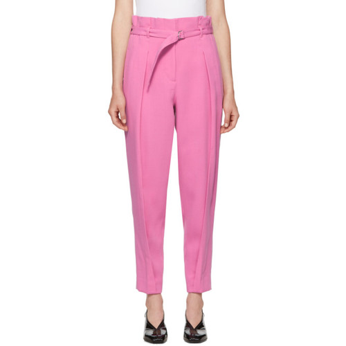 3.1 PHILLIP LIM Pink Darted Crepe Trousers