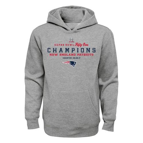 NFL Boys' Super Bowl LI Champions Hoodie  New England Patriots