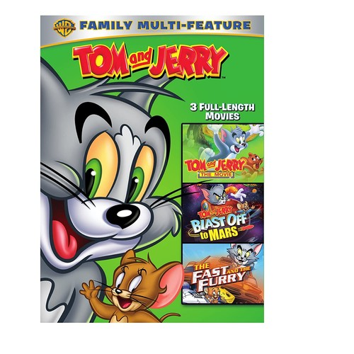 Tom and Jerry Movies 3-Pack