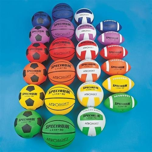 Spectrum Lite Junior Size Sports Ball Pack (Pack of 24)