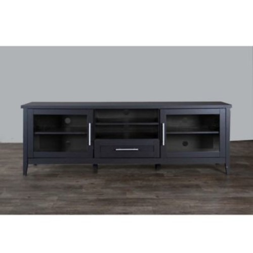 Baxton Studio Espresso TV Stand in Dark Brown