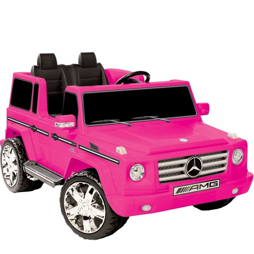 Kid Motorz Pink Mercedes Benz G55 AMG Two-SeatRide-On