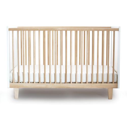 Rhea Crib [Finish : Birch\/White]