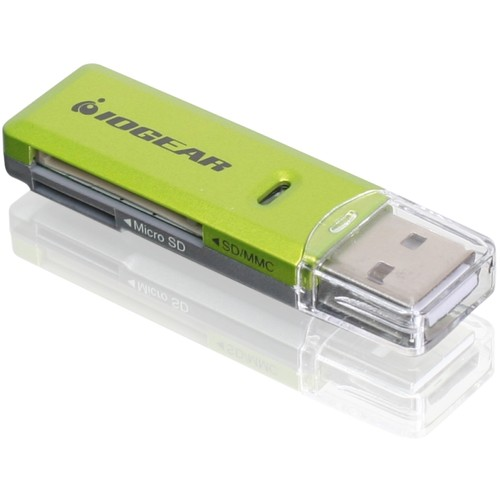 IOGEAR USB 2.0 SD/MicroSD/MMC Card Reader/Writer