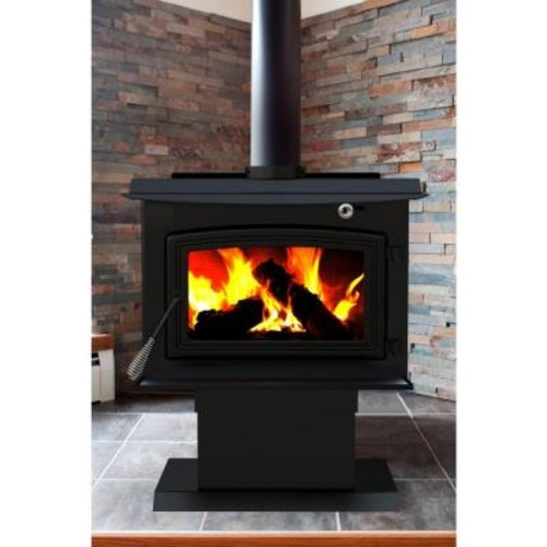 Pleasant Hearth 2,200 sq. ft. EPA Certified Wood-Burning Stove