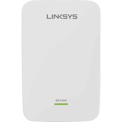 Linksys - MAX-STREAM AC1900 Wireless-ac Dual Band Repeater with MU-MIMO - White