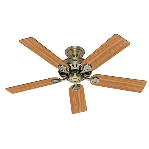 Hunter Builder's Select 52 in. Indoor Antique Brass Ceiling Fan