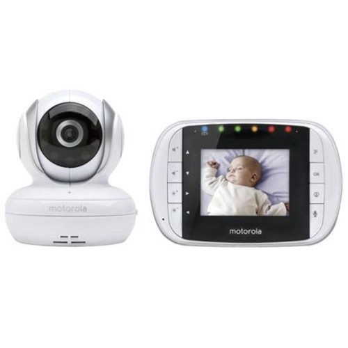 Motorola MBP33S Digital Wireless Video Baby Monitor MBP33S