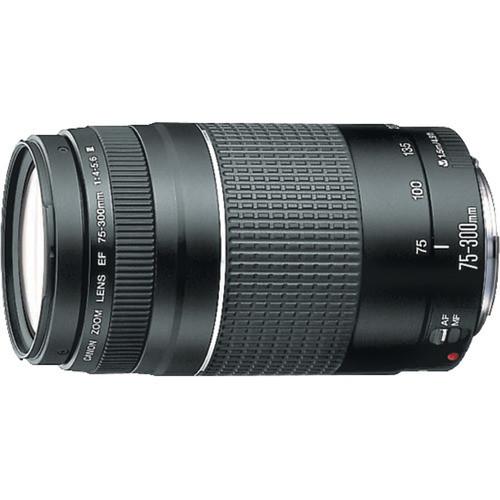Canon EF 75-300mm F4-5.6 III Telephoto Zoom Lens