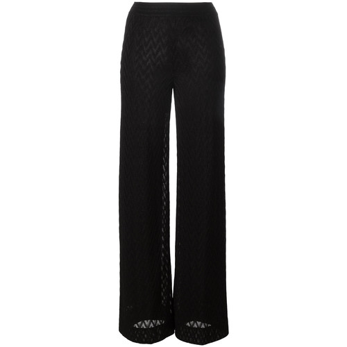MISSONI Zig-Zag Pattern Trousers
