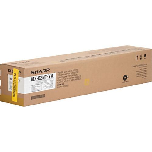 Sharp MX62NTYA Original Toner Cartridge - Laser - High Yield - 40000 Pages - Yellow - 1 Each