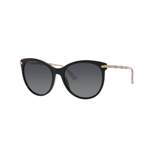 GUCCI Rhinestone Cat-Eye Sunglasses, Black