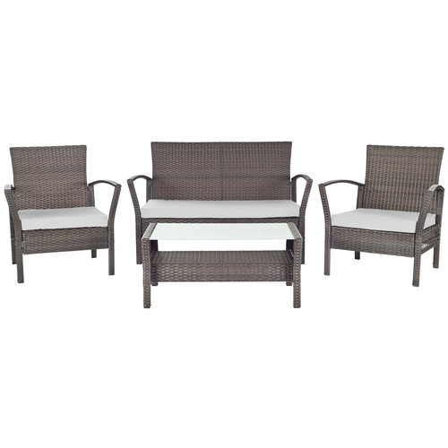 Safavieh Avaron 4pc Outdoor Patio Set