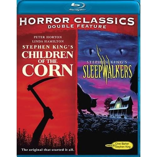 Horror Classics Double Feature: Children of the Corn/Sleepwalkers [2 Discs] [Blu-ray]