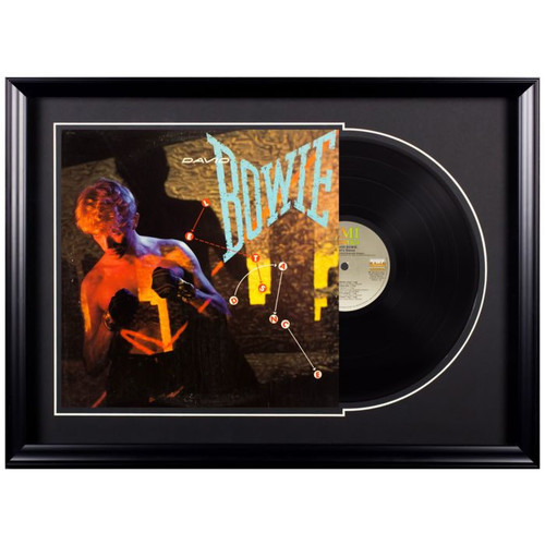 Deluxe Framed Album - David Bowie - Lets Dance