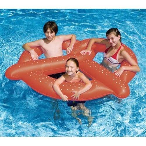 Swimline Inflatable Pretzel Pool Float