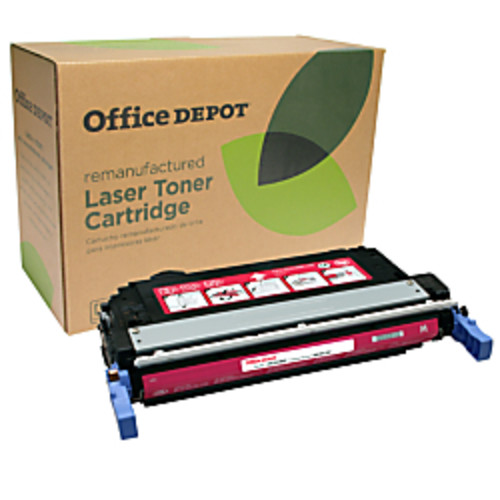 Office Depot Brand OD4005M (HP 642A) Remanufactured Magenta Toner Cartridge