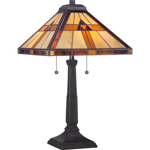 Quoizel Tiffany-style Bryant Table Lamp