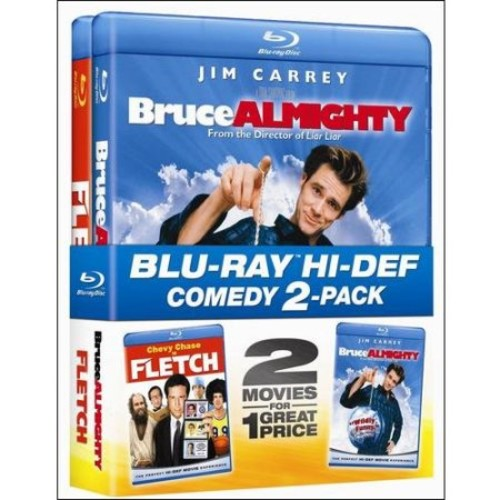 Fletch / Bruce Almighty (Double Feature) (Blu-ray) (Widescreen)