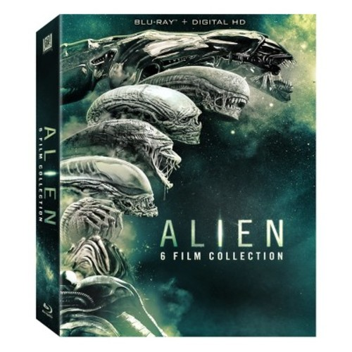 Alien: 6 Film Collection (Blu-ray + Digital)