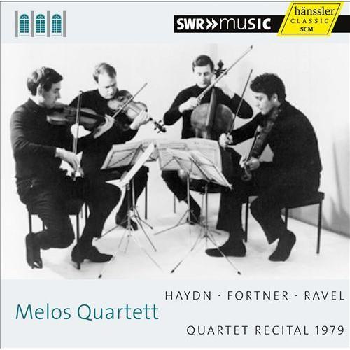 Melos Quartett Recital 1979 [CD]