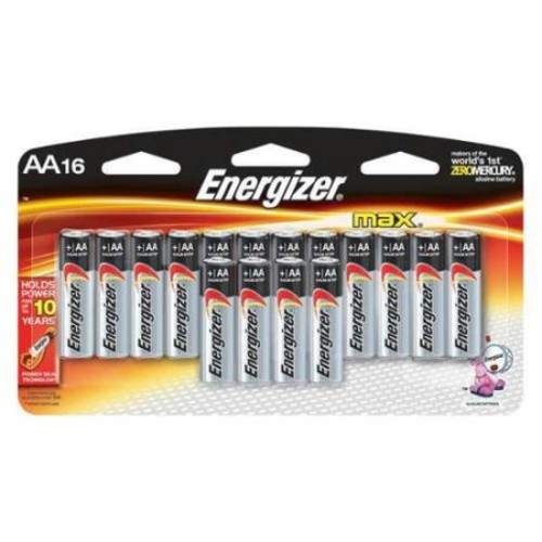 Energizer Max AA Alkaline Battery - E91LP-16