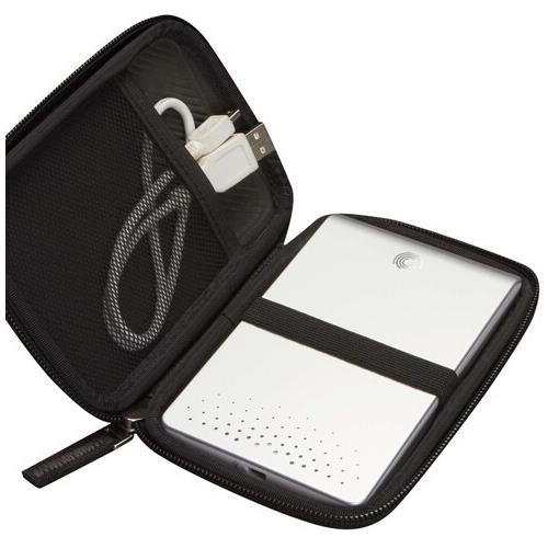 Case Logic EHDC-101 Hard Shell Case for 2.5-Inch Portable Hard Drive [Black]