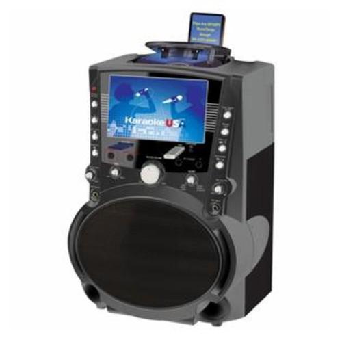 Karaoke USA GF757 DVD/CDG/MP3G Karaoke System with 7