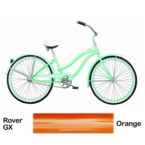 Micargi Orange Rover GX Beach Cruiser Female