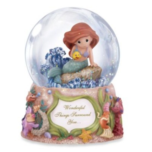 Precious Moments Disney Wonderful Things Surround You Musical Water Globe