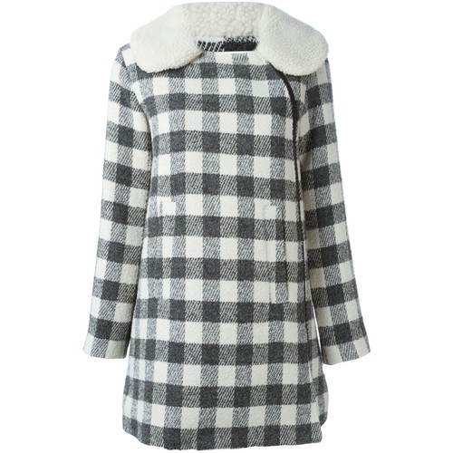 SEE BY CHLOÉ Checked Short Coat