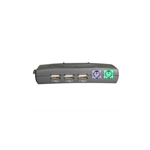 C2G/Cables to Go 35554 TruLink 2-Port VGA/USB 2.0 and PS/2 KVM Switch with Cables