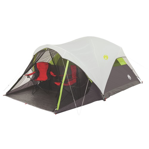 Coleman Steel Creek Fast Pitchu0026#8482; 6-Person Dome Tent with Screen Room