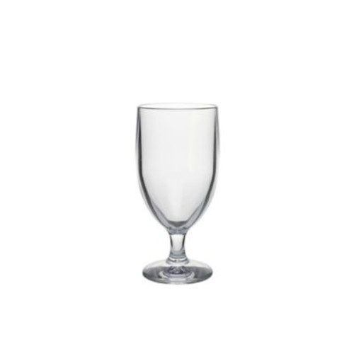 Strahl Water Soda Goblet, Clear, 12oz