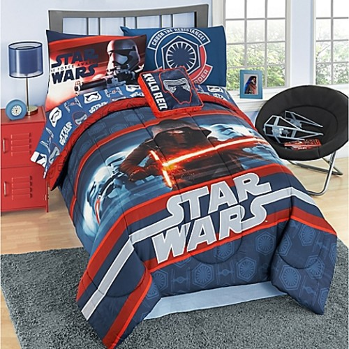 Star Wars Episode 7 6-Piece Reversible Twin Comforter Set