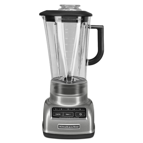 KitchenAid 5 Speed Diamond Blender - Contour Silver
