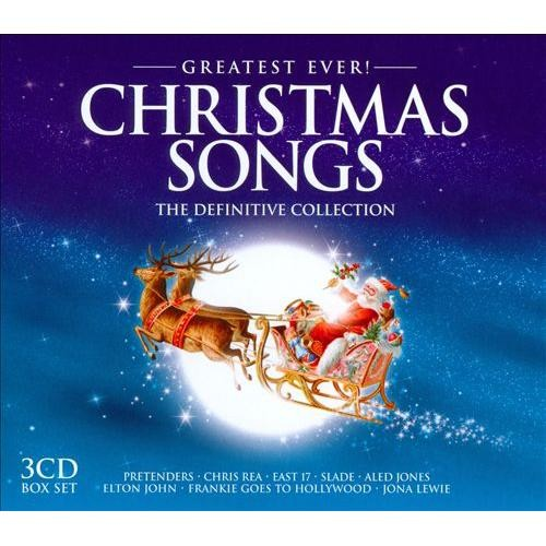 Greatest Ever! Christmas Songs: The Definitive Collection [2012] [CD]
