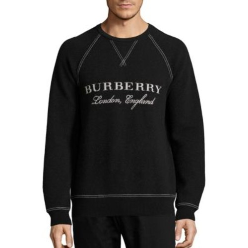 BURBERRY Belsford Wool & Cashmere Blend Sweatshirt