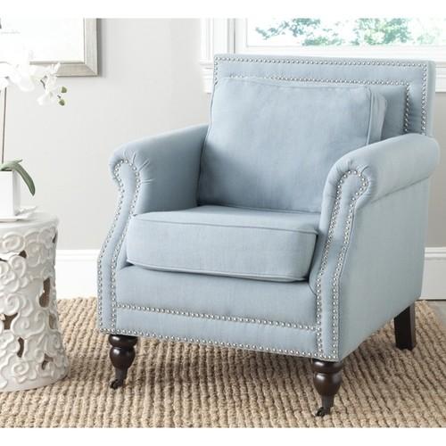 Safavieh Karsen Seaside Blue Club Chair