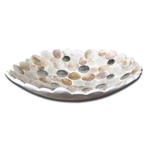 Uttermost 19617 Capiz Bowl in Capiz Shell