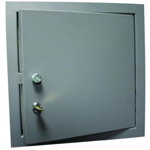 Elmdor 14 in. x 14 in. Steel Access Panel for Exterior Use