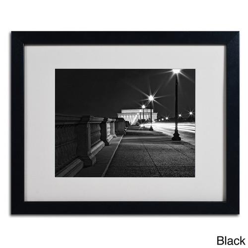 Gregory O'Hanlon 'Lincoln Memorial Bridge' Framed Matted Art