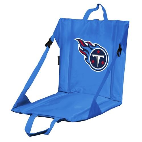 Logo Brands Tennessee Titans Folding Stadium Seat