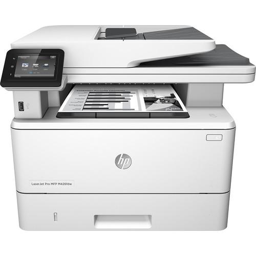 HP - LaserJet Pro m426fdw Wireless All-In-One Printer - Gray