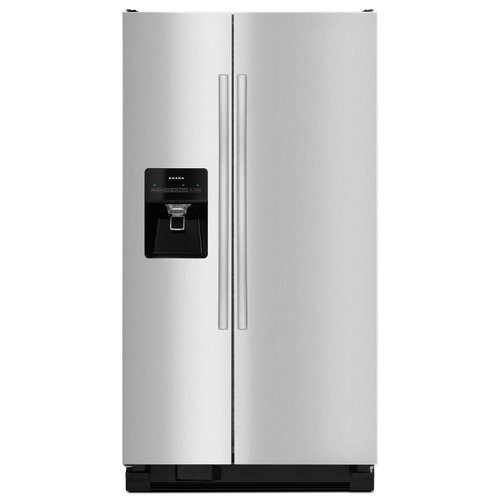 Amana 24.49 cu. ft. Side By Side Refrigerator in Stainless Steel